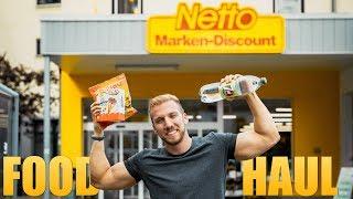 IIFYM FOOD HAUL 🍟 Fitness Einkauf im NETTO Supermarkt