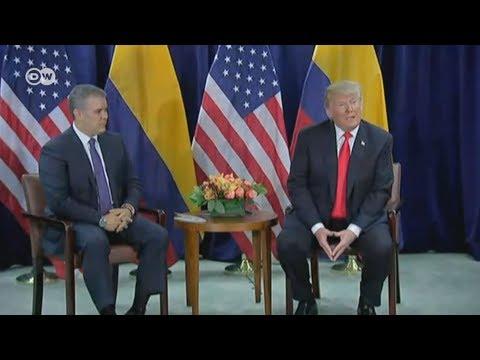 Trump no cierra la puerta a la vía militar en Venezuela