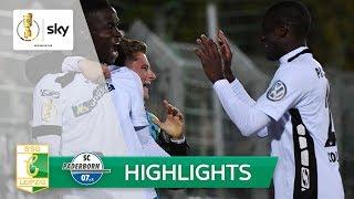 BSG Chemie Leipzig - SC Paderborn 07 0:3 | Highlights - DFB-Pokal 2018/19 | 2. Runde