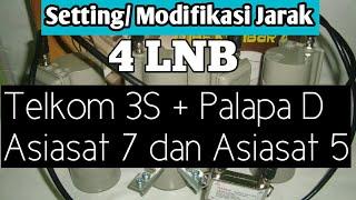 Video Setting Jarak Lnb 4 Telkom 3S Palapa D Asiasat 7 dan Asiasat 5 download MP3, 3GP, MP4, WEBM, AVI, FLV Oktober 2017