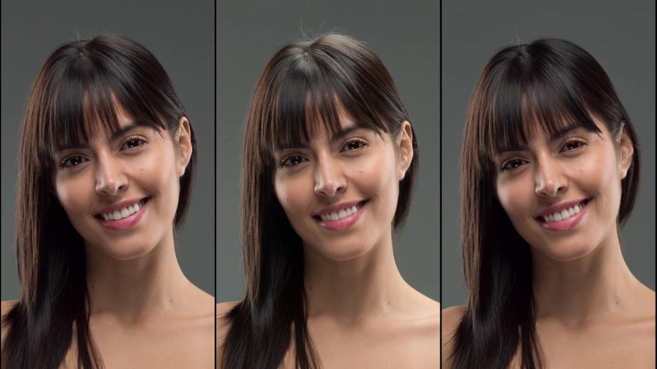 Falcon Eyes LED Soft Light Effect on Model Portrait