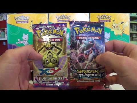 XY Kangaskhan EX, Gengar EX, and TREASURE Tin Openings !