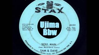 SAM & DAVE   Soul Man   STAX RECORD   1967