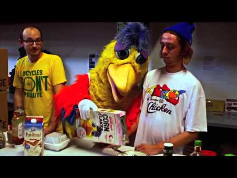 San Diego Chicken Mascot Job Interview At HOMAGE World HQ in Columbus, Ohio