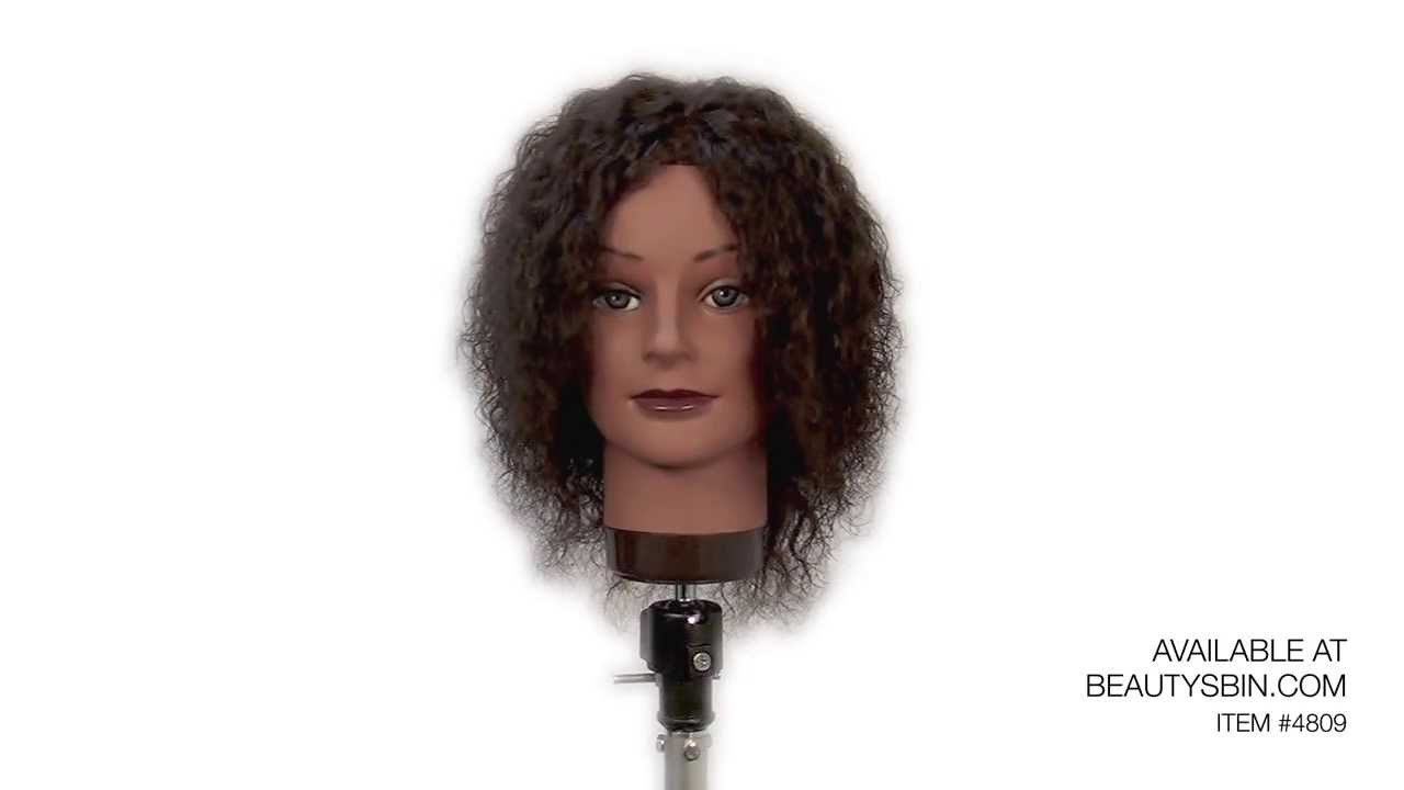 Hair Styling Mannequin Head: Cosmetology Mannequin Head 14-16""