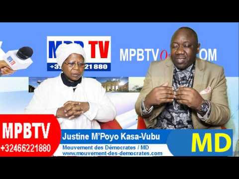 RDC:Voeux 2017 et Virulente Interpellation de Justine Kasa-Vubu