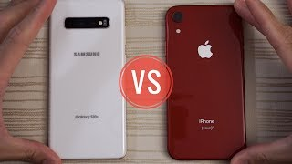 Samsung Galaxy S10 Plus vs iPhone XR - Speed Test!