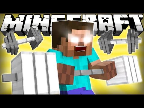 Thumbnail: If Herobrine Went To The Gym - Minecraft