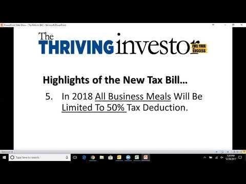 Trumps Tax Loopholes for RE Investors