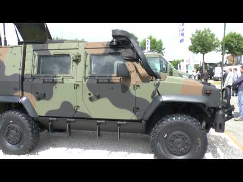 Eurosatory 2016: IHS Jane's talks about the Show debut of the Iveco LMV2 Light Multirole Vehicle 4x4
