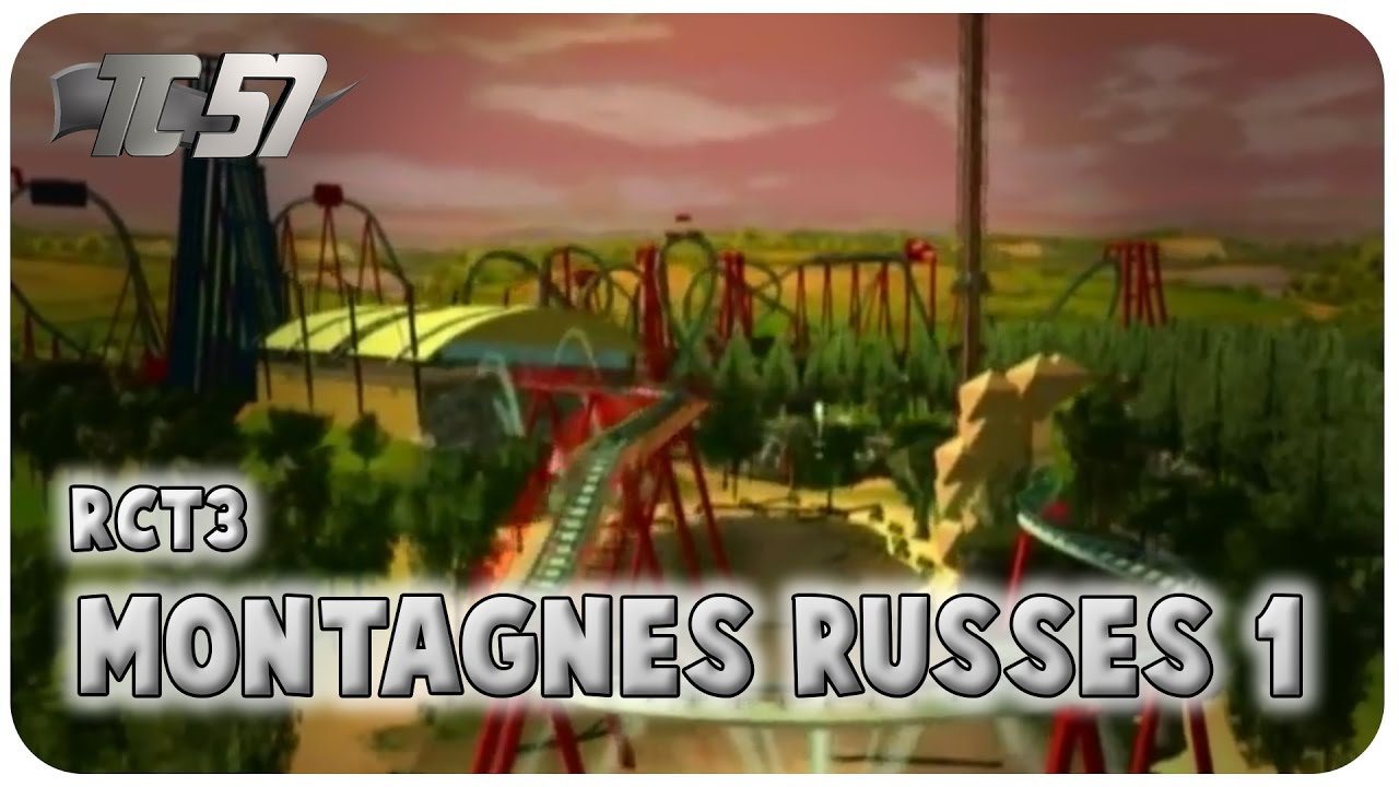 montagne russe rct3
