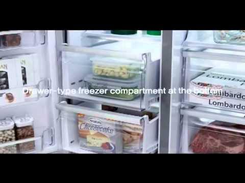 Samsung presenta il nuovo frigorifero quattro porte T9000 - YouTube