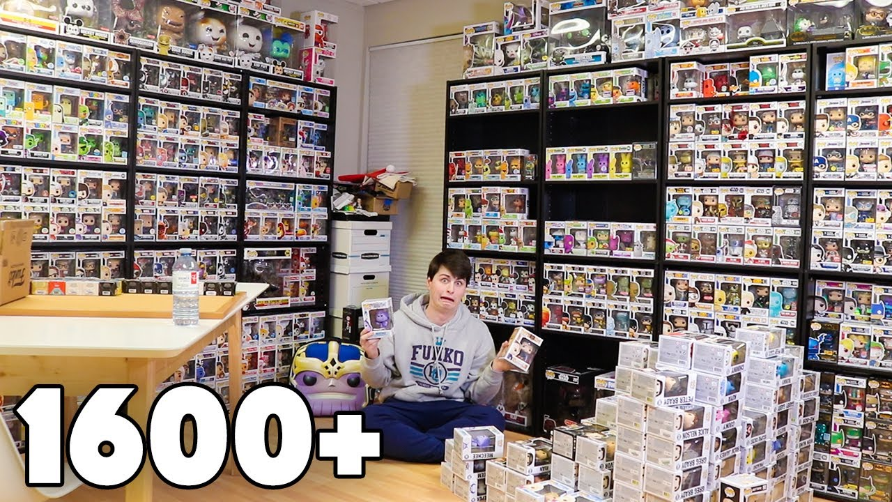 Cleaning up my Funko Pop Studio | 1600+ Figures!