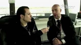 Interview (Teil3) Blutengel Unheilig Chris Pohl und Der Graf Mera Luna 2006