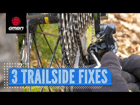 3 Trailside Mountain Bike Fixes | How To Fix Your MTB On A Ride