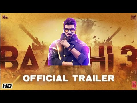 Baaghi 3 Trailer | FT Free Fire  | free Fire Baaghi 3 | Anas007Yt