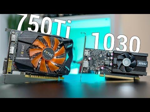 GTX 750Ti vs GT 1030 Gaming Benchmarks!