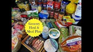 Safeway Grocery Haul & Meal Plan - May 2018 - Week 2