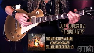 "Joel Hoekstra - ""Finish Line"" - playthrough and lesson"