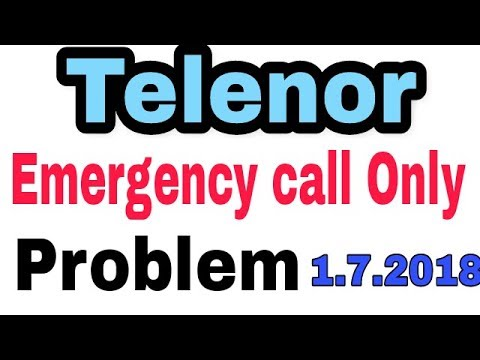 Uninor || Emergency Call Only Problem || Telenor To Airtel Sim Process