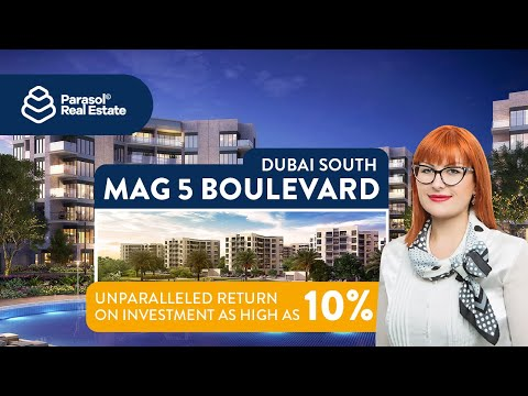 Off plan property investment in Mag 5 Boulevard, Dubai South