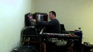 On the run EMS Synthi A driven by DSI Pro2