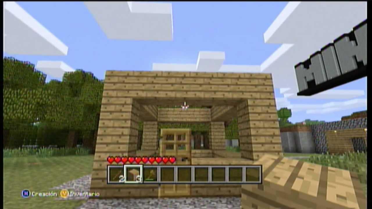 Minecraft Version Xbox 360 Demo Gameplay YO QUIERO ESTE JUEGO