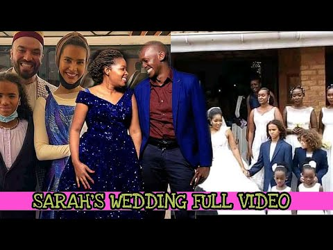Sarah's wedding full video | khalid and salama attended sarah's wedding as they had promised.