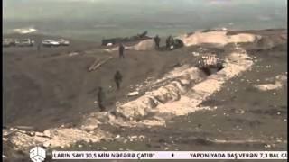 Подбитая военная техника армян. Бои в карабахе