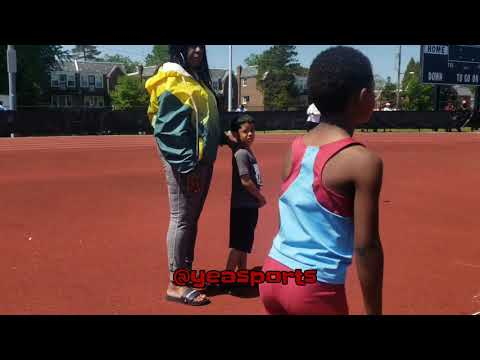 "7yr Old Track Star ""Brandon Banks"" Compete In 200m, 800m, & Long Jump At The UAGTCA Meet#3"