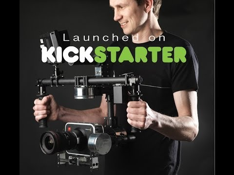 Flyonix 'F series' camera stabilisers Kickstarter campaign
