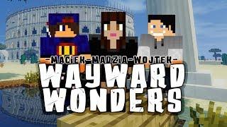 Minecraft Wayward Wonders #25: Labiryntowa Kopalnia z Ogórem w/ Madzia, GamerSpace