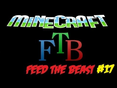 Minecraft - Feed The Beast - Crystal Chest And Quarry #17