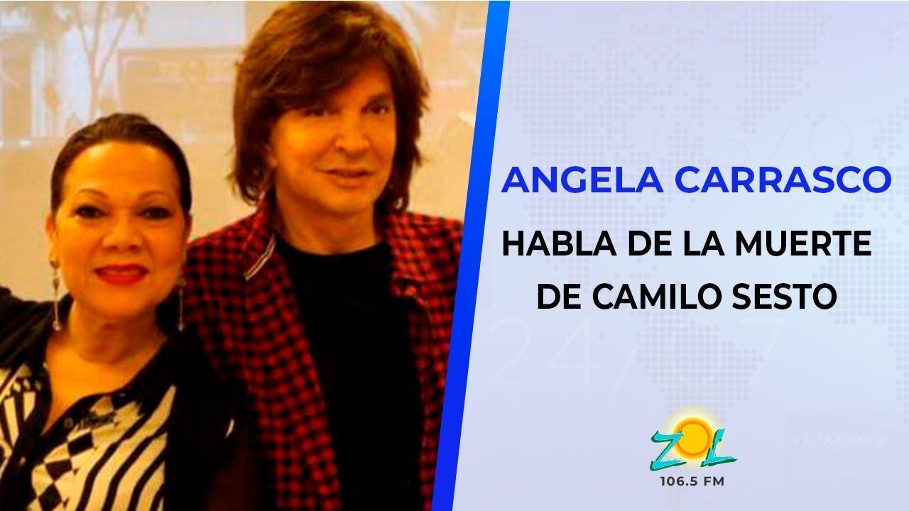 Angela Carrasco Nos Habla Sobre La Muerte De Camilo Sesto Y Como Lo Conoció Youtube