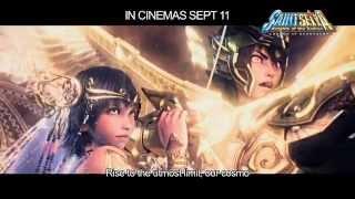 Saint Seiya: Legend Of Sanctuary - Official Movie Trailer (In Cinemas 11 Sept 2014)