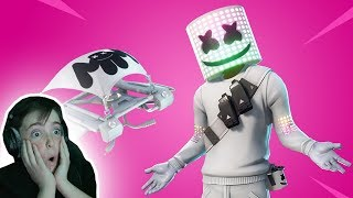 I CAN'T BELIEVE THEY MADE A MARSHMELLO SKIN!! Fortnite Battle Royale Gameplay