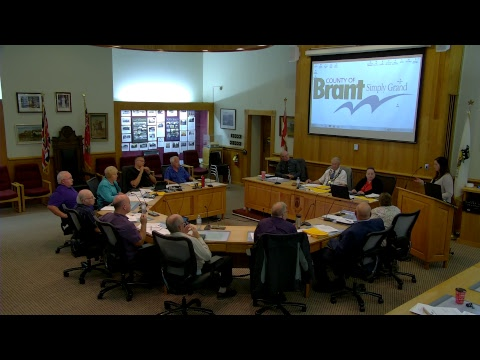 Brant County Council Meeting June 27 2017