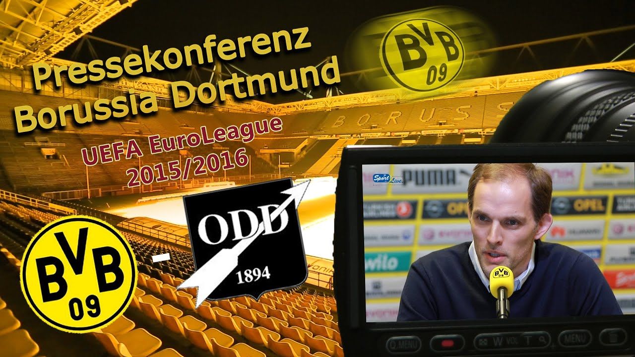 Borussia Dortmund - Odds BK: Pressekonferenz mit Matthias Ginter und Thomas Tuchel