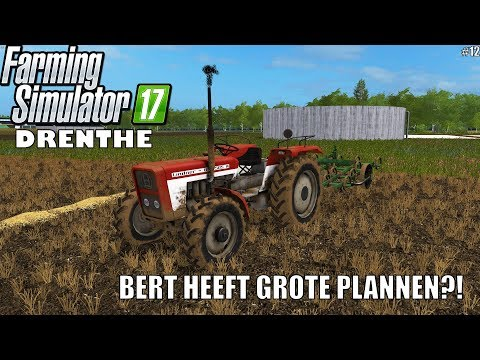 'BERT HEEFT GROTE PLANNEN?!' Farming Simulator 17 Drenthe #12