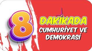 8dk'da CUMHURİYET VE DEMOKRASİ