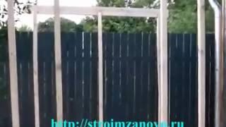 видео Дровница своими руками для дачи :фото проектов