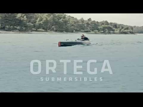 Ortega Submersibles MK1A testing Croatia