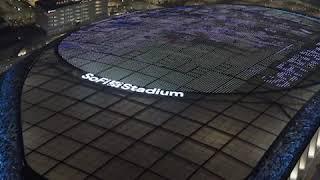 Monday Night Football on the Roof of SoFi Stadium