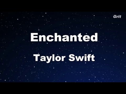 Enchanted - Taylor Swift  Karaoke【No Guide Melody】