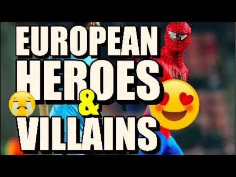 5 European Heroes and Villains From This Weekend