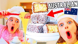 Australian Lamingtons with BIGGY AND NAZ - NORRIS NUTS COOKING