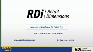 Rd - ice for retail pro pos v8 ecommerce integration by dimensions. with over 1000 integrations and the development of 100 p...