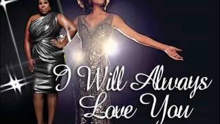 I Will Always Love You - Whitney Houston & Amber Riley (Glee)