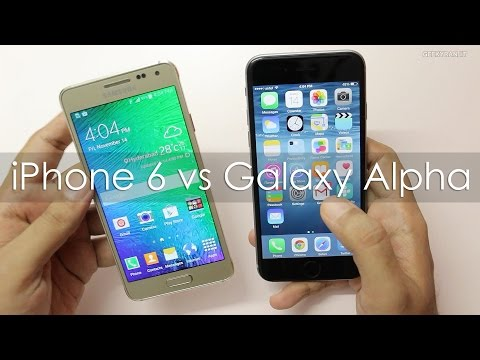 iPhone 6 vs Samsung Galaxy Alpha Which is better for You?