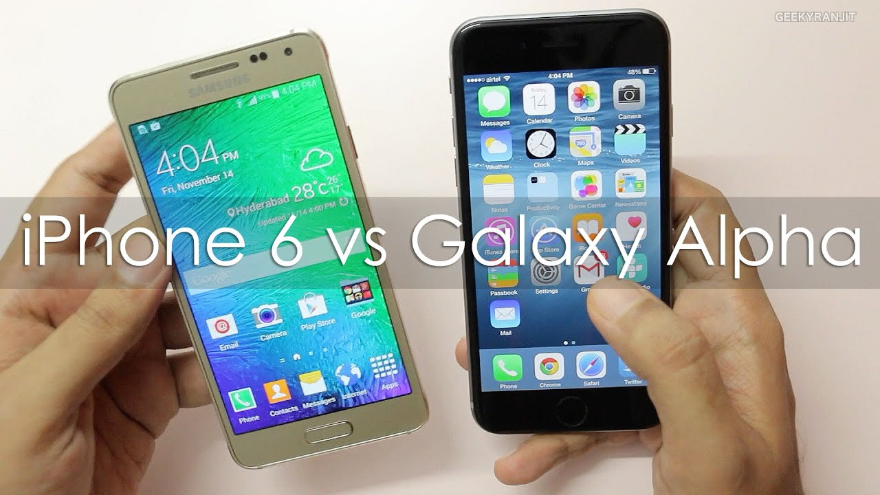 Which is better: iPhone or Galaxy 85